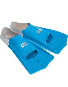Ласты Mad Wave Training Размер 37-38 Blue M0747 10 4 04W