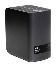 Сетевое хранилище Western Digital My Cloud EX2 Ultra 0Tb WDBSHB0000NCH-EEUE