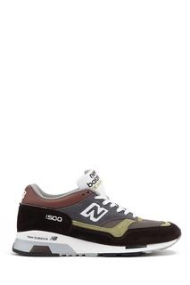 Коричневые замшевые кроссовки №1500 New Balance