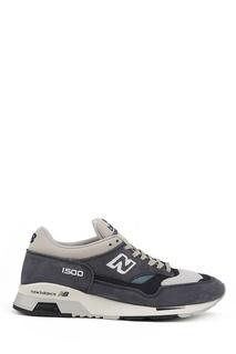 Серые замшевые кроссовки №1500 New Balance