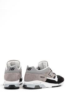 Контрастные замшевые кроссовки №1500 New Balance