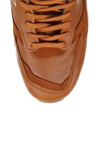 Коричневые кроссовки из кожи №1500 New Balance
