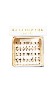 Индивидуальные шелковые накладные ресницы - Battington Lashes