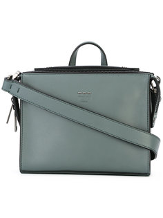 сумка-почтальонка с ручкой сверху Fendi