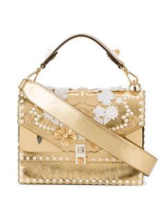 сумка Kan I с рельефным рисунком  Fendi