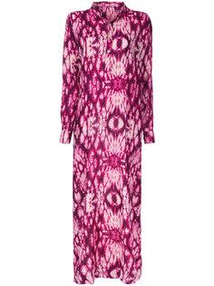 длинное платье-рубашка Lasha Devdariani