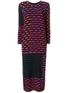 платье с принтом Crazy Stripes Henrik Vibskov