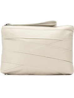 panelled clutch bag Mara Mac