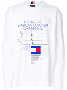 футболка с принтом  Tommy Hilfiger