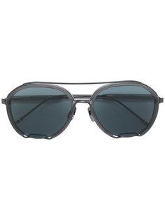 """солнцезащитные очки с оправой """"авиатор"""" Thom Browne Eyewear"""