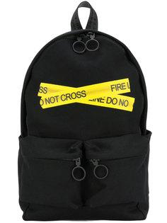 рюкзак с принтом оградительной ленты Off-White