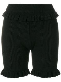 шорты в рубчик Kenzo