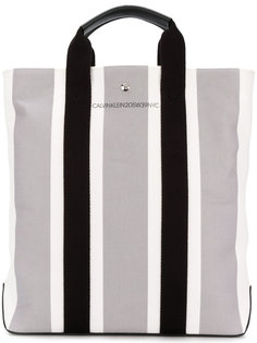 полосатая сумка-шоппер Calvin Klein 205W39nyc