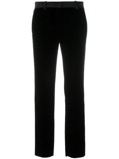 бархатные брюки узкого кроя Roberto Cavalli
