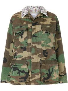 камуфляжная куртка в стиле милитари Forte Couture