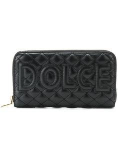 стеганый кошелек с логотипом Dolce & Gabbana