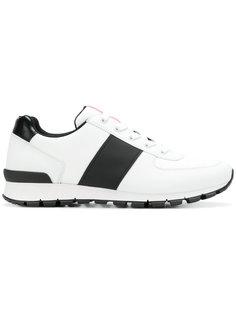 кроссовки с панельным дизайном Sporty  Prada