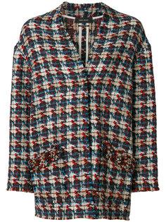 твидовый жакет с вышивкой Isabel Marant