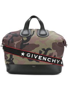 сумка-тоут Nightingale  с камуфляжным принтом Givenchy