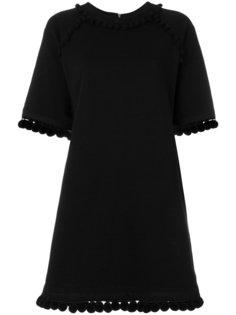 платье-толстовка с помпонами Marc Jacobs