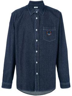 рубашка с вышивкой тигра Kenzo