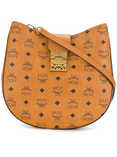 Patricia Visetos Hobo medium shoulder bag MCM