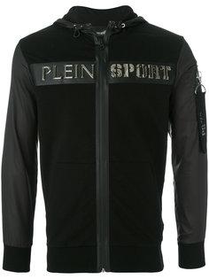 толстовка с капюшоном и логотипом Kevin  Plein Sport