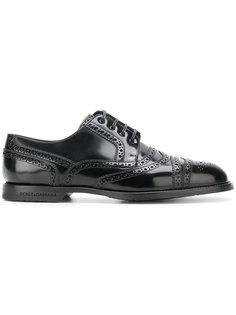 ботинки Дерби с перфорацией Dolce & Gabbana