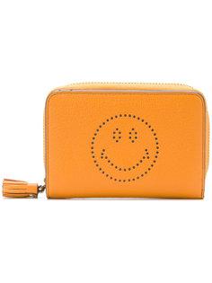 кошелек  с принтом смайла Anya Hindmarch