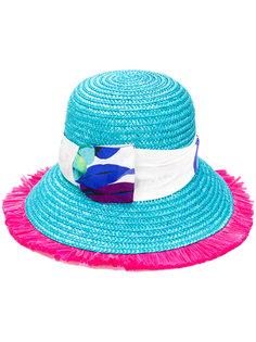 шляпа с цветочным принтом Etro