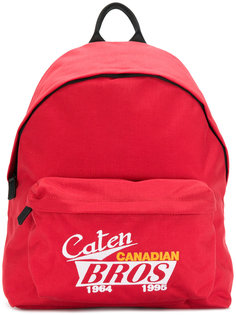 Caten Canadian Bros backpack Dsquared2