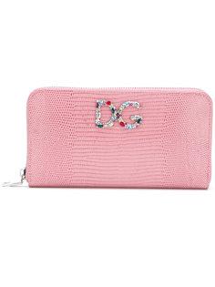 кошелек с бляшкой с логотипом Dolce & Gabbana