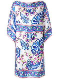 платье-кафтан с цветочным принтом P.A.R.O.S.H.