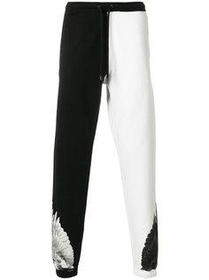 спортивные брюки Double Wings Marcelo Burlon County Of Milan
