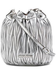 сумка-мешок matelassé  Miu Miu