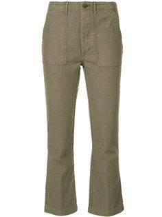укороченные брюки карго R13