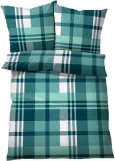 Постельное белье Курт, фланель (сине-зеленый) Bonprix