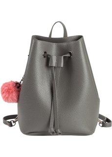 Рюкзак-мешок (серый/нежно-омаровый) Bonprix