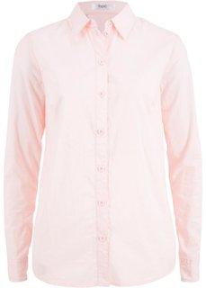 Блузка с длинным рукавом (розовый жемчуг) Bonprix