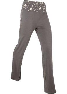 Трикотажные брюки (шиферно-серый) Bonprix