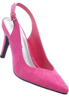 Босоножки (ярко-розовый) Bonprix