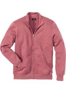 Трикотажная куртка стандартного покроя (ягодный) Bonprix