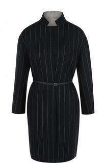 Двустороннее шерстяное пальто с укороченным рукавом Loro Piana