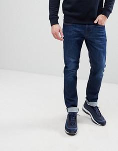 Выбеленные узкие джинсы Emporio Armani J06 - Синий