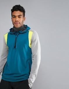 Сине-серый худи с молнией ONeill Activewear Force - Синий Oneill