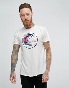 Белая футболка узкого кроя с логотипом ONeill Reissue Heritage - Белый Oneill