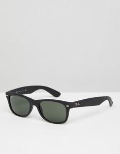 Черные вайфареры Ray-Ban 0RB2132 52 мм - Черный