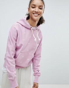 Худи с логотипом Champion - Розовый