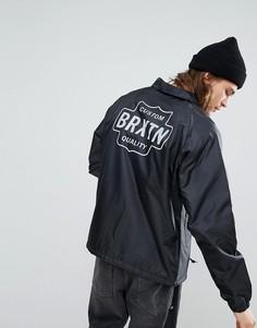 Спортивная куртка с подкладкой из искусственного меха Brixton Garth - Черный