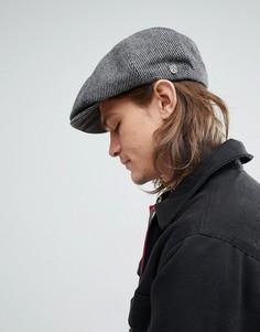 Черная плоская кепка Brixton Brood - Черный
